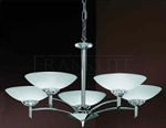 Franklite FL2006/5 Fizz 5 Light Ceiling Fitting in Polished Chrome finish