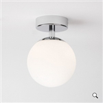 Astro 1038001 Denver Bathroom Ceiling Light in Polished Chrome finish.