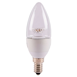 Bell 05823 LED 7 Watt Warm White SES Candle Bulb
