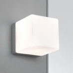 Astro Lighting 0635 Cube Polished Chrome Bathroom Wall Light.
