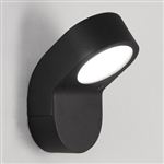 Astro 1131004 Soprano Low Energy Black Garden Wall Light