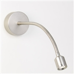 Astro 1138008 Fosso Switched Brushed Nickel LED Wall Light