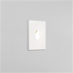 Astro 1175001 Tango LED Recessed Wall light in Matt White Finish