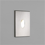 Astro 1175002 Tango LED Recessed Wall light in Brushed Stainless Steel