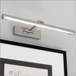 Astro 1115007 Goya LED 460 Picture Light in Brushed Nickel Finish