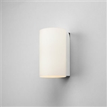 Astro 1186001 Cyl 200 White Glass Wall Light