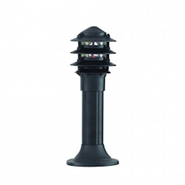 Searchlight 1075-450 Black Bollard