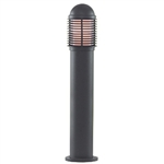 Searchlight 1082-730 Black Bollard Light