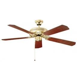 Fantasia Ceiling Fans 110019 52inch Classic Polished Brass
