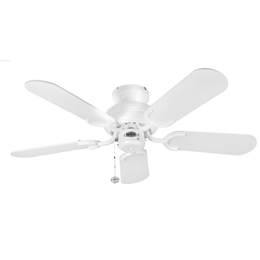 "Fantasia 110200 36"" White Capri Ceiling Fan"
