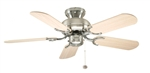 "Fantasia 110255 36"" Stainless Steel Capri Ceiling Fan"