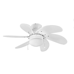 Euro fan 111573 30 inch White Atlanta Ceiling Fan