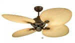 "Fantasia Ceiling Fans 111665 52"" Wicker Ceiling Fan"