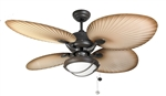 "Fantasia Ceiling Fans 114871 52"" Palm Ceiling Fan Combi"