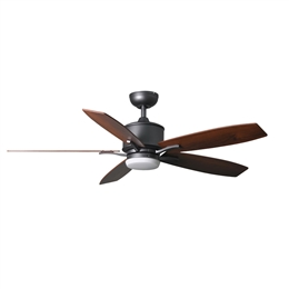 Fantasia Prima Ceiling Fan 52 inch Natural Iron with LED Light 117186