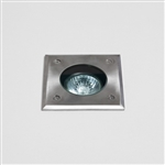 Astro 7393 Gramos Square Stainless Steel Ground Lightt