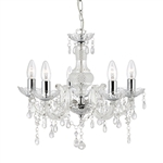 Searchlight 1455-5CL Marie Therese 5 light Chandelier