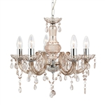 Searchlight 1455-5MI Marie Therese 5 light Chandelier