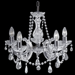 Searchlight 399-5 Marie Therese 5 light Chandelier