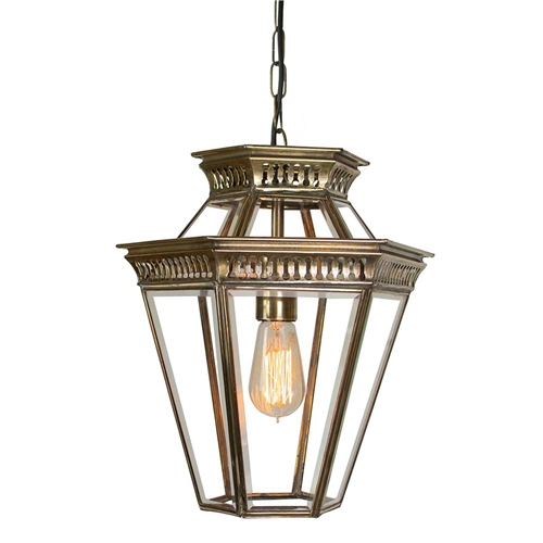 Limehouse Lamp Co 410 Bevelled Glass Chain Lantern