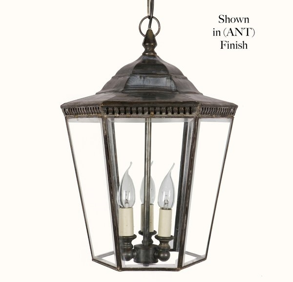 Limehouse Lamp Co 435AP3 Large Chelsea Pendant Lamp