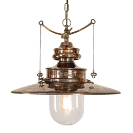 Limehouse Lamp Co 440L Large Paddington Chain Lantern.