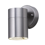 Searchlight 5008-1-LED Exterior Stainless Steel Wall Light