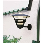 Konstsmide 503-750 Gemini Outdoor Wall Light In Matt Black