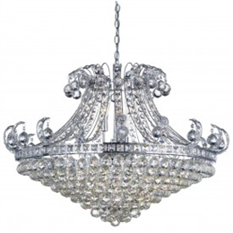 Searchlight 5048-8CC Bloomsbury 8 Light Crystal Chandelier