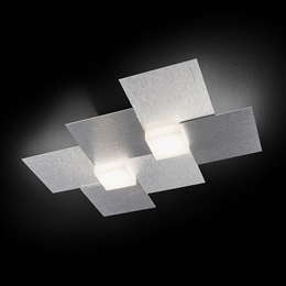 Grossmann 52-770-072 Creo 2 light Led Ceiling or Wall Light