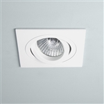 Astro 1240016 Taro Single White Recessed Downlight