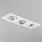 Astro Lighting 1240019 Taro Triple White Recess Downlight