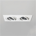 Astro 1240032 Taro Fire Rated Twin White Recessed Downlight