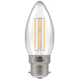 Crompton 7130 Led Decorative Filament Candle 5 Watt BC