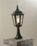 Konstsmide 7214-600 Firenze Green One Light Post Lamp..