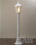 Konstsmide 7215-250 Firenze matt white lamp post.