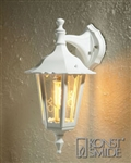 Konstsmide 7231-250 Firenze Matt white Outdoor Wall Lantern