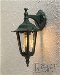 Konstsmide 7231-600 Firenze Green Outdoor Wall Lantern
