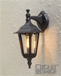 Konstsmide 7231-750 Firenze Matt black Outdoor Wall Lantern
