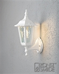 Konstsmide 7232-250 Firenze Matt white Outdoor Wall Lantern