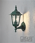 Konstsmide 7232-600 Firenze Green Outdoor Wall Lantern