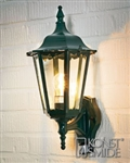 Konstsmide 7236-600 Firenze Green Outdoor Lantern with Motion Sensor