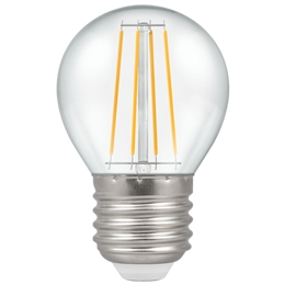 Crompton 7239 5 Watt Led ES Filament Golfball Bulb