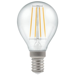 Crompton 7246 5 Watt LED SES Filament Golf ball Bulb