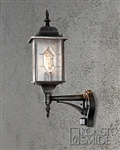 Konstsmide 7268-759 Milano Exterior Wall Lantern with Motion Sensor.