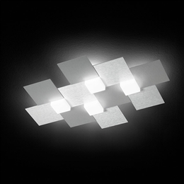 Grossmann Creo 74-770-072 Led Light In Brushed Aluminium