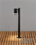 Konstsmide 7517-750 Modena Exterior Post Light in Matt Black.