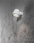 Konstsmide 7523-250 Trieste Exterior Wall Light in Matt White finish