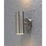 Konstsmide 7571-000 Modena Stainless Steel Wall Light