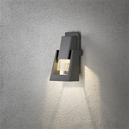 Konstsmide 7982-370 Potenza LED Exterior Wall Light in Anthracite finish